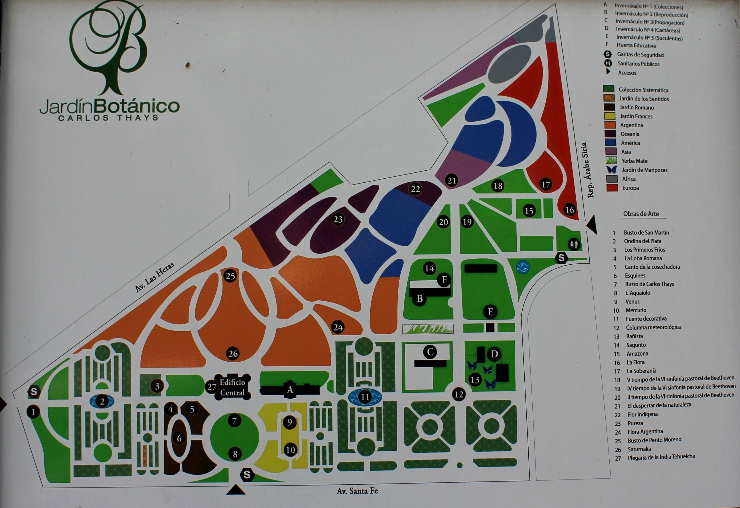 Free buenos aires botanical garden pictures for Garden design map